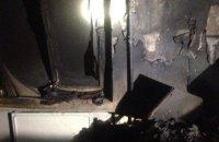 В Никополе произошел пожар в многоквартирном доме: спасены 2 человека