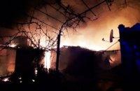 На Днепропетровщине произошел пожар в летней кухне частного дома (ФОТО)