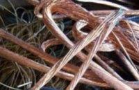 За неделю в Днепропетровске восстановили почти 700 м телефонного кабеля