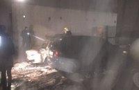 В Днепре на стоянке сгорело 5 автомобилей (ФОТО)
