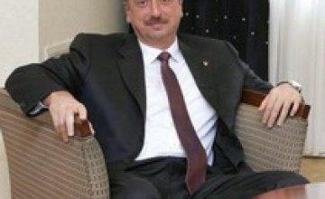 Сегодня Украину посетит Президент Азербайджана Ильхам Алиев