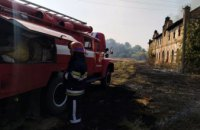 В Днепропетровской области сгорело неэксплуатируемое здание