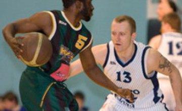 Баскетболисты «Днепра» уступили «Киеву» со счетом 67:73