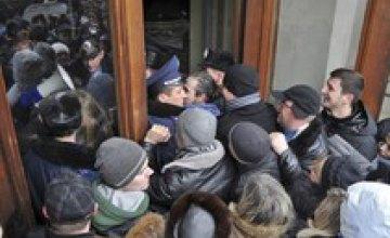 В ходе штурма Харьковской ОГА правоохранители задержали 66 человек