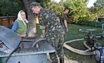 Президент обязал Днепропетровских спасателей провести восстановительные работы в одном из сел Ивано-Франковской области