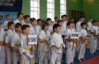 В Никополе прошел Всеукраинский турнир по каратэ «Щит Отечества»