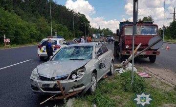 На трассе «Киев – Одесса» водитель наехал на бригаду рабочих: есть жертвы (ФОТО)