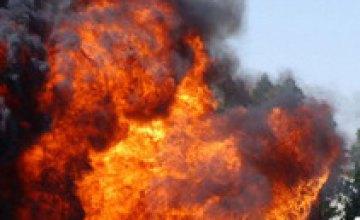 В Днепропетровске из-за взрыва топливного бака пострадал 56-летний мужчина