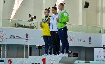 Дніпровська гімнастка посіла 2 місце на міжнародних змаганнях