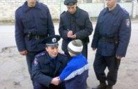 В Днепропетровске солдаты ВВ нашли сбежавшего 3-летнего мальчика