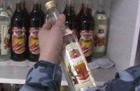 В Днепропетровске незаконно продавались элитные спиртные напитки