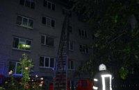 Ночью в Днепре горело студенческое общежитие: внутри здания находилось 110 человек (ФОТО, ВИДЕО)