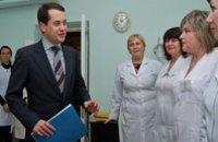 Игорь Цыркин передал новый анализатор крови больнице станции Нижнеднепровск–Узел