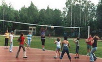 По количеству спортивных площадок Днепропетровская область занимает первое место в стране