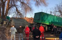 Стали известны подробности ДТП с грузовиком на Днепропетровщине (ВИДЕО)