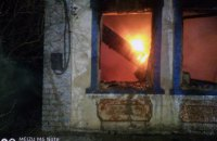 В Апостоловском районе при пожаре в доме погибла хозяйка жилья
