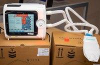 В госпитальные базы Днепропетровщины передали современные аппараты ИВЛ