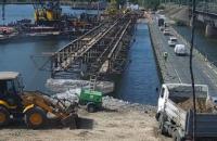 В Никопольском районе стартовали работы по восстановлению разрушенного моста через реку Чертомлык