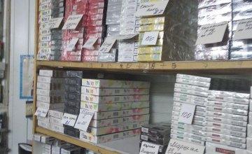 В Каменском изъято более 2 тыс. пачек контрафактных сигарет