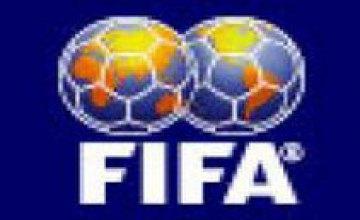 Рейтинг ФИФА: сборная Украины поднялась на 29 позицию