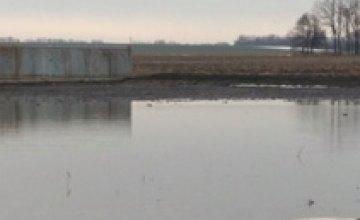 В Днепропетровской области затоплены девять домов (ФОТО)