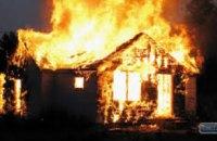 В АНД районе Днепра ликвидирован пожар в жилом доме на площади 100 кв. метров