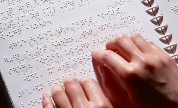 Тесты ВНО напечатают специальным шрифтом для слабовидящих