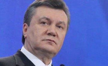 В годовщину инаугурации Янукович проведет телемост