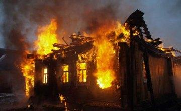 При пожаре в частном доме Пятихатского района погиб 41-летний мужчина