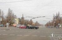 ДТП в Кривом Роге: столкнулись две легковушки