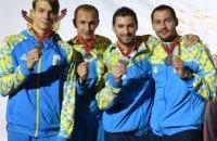 Украинские шпажисты во главе с капитаном-днепряниным завоевали «серебро» чемпионата Европы