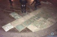В Киеве супруги украли бронзовые фрагменты памятника