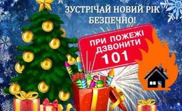 Днепрянам напомнили о правилах безопасности во время празднования Нового года и Рождества