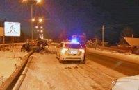 Житель Днепра попал в смертельное ДТП, врезавшись в отбойник (ФОТО)