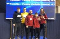 Днепровские спортсмены завоевали первые в новом году медали на международных соревнованиях по каратэ