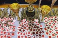 Каратисты Днепропетровщины взяли почти полторы сотни медалей на всеукраинских соревнованиях