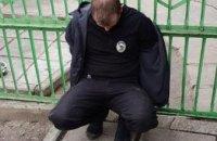В Запорожской области группа мужчин во время совершения преступления использовали форму полицейских