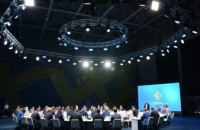 Мер Дніпра Борис Філатов і Президент України Володимир Зеленський потиснули руки і будуть разом працювати на благо городян
