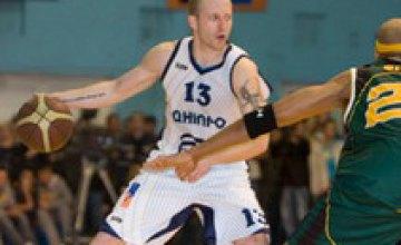 БК «Днепр» окончил свой сезон в Чемпионате Украины по баскетболу