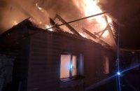 В Кривом Роге при пожаре в собственном доме погиб мужчина (ВИДЕО)