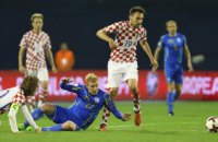 Сборная Украины проиграла Хорватии и не вышла на ЧМ-2018