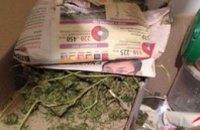 В Песчанке полиция нашла в доме местного жителя 3 мешка конопли
