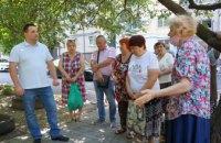 «Социальная реконструкция» в Днепре набирает обороты: представители «ОП – За жизнь» встретились с жителями Центрального района (ФОТО, ВИДЕО)