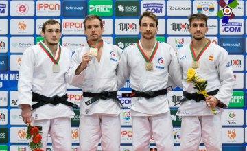 Днепровский спортсмен стал серебряным призером Континентального Кубка Европы по дзюдо