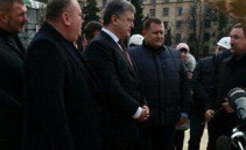 Новая ветка метро в Днепре будет построена за 3-4 года, - Порошенко (ФОТО)
