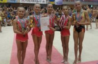 Днепровские гимнастки выиграли международные соревнования в Японии