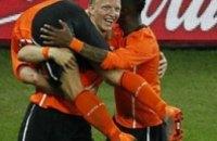 Нидерланды вышли в четвертьфинал Чемпионата мира