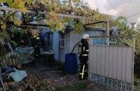 Под Днепром сгорел дачный дом: есть погибшие