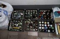 В Каменском полицейские изъяли 1,5 тыс. пачек контрафактных сигарет и 145 литров алкоголя