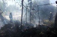 В Самарском районе Днепра сгорел дачный дом